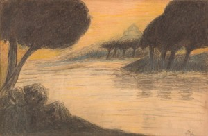 Painting-by-Rabindranath-Tagore